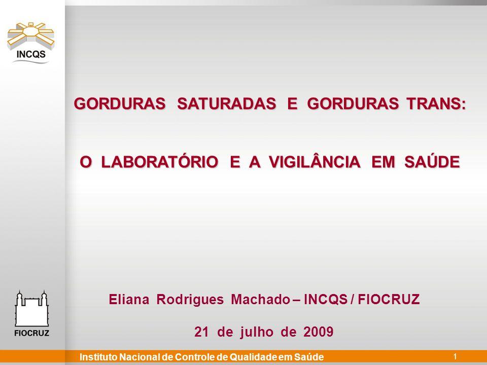 GORDURAS SATURADAS E GORDURAS TRANS:
