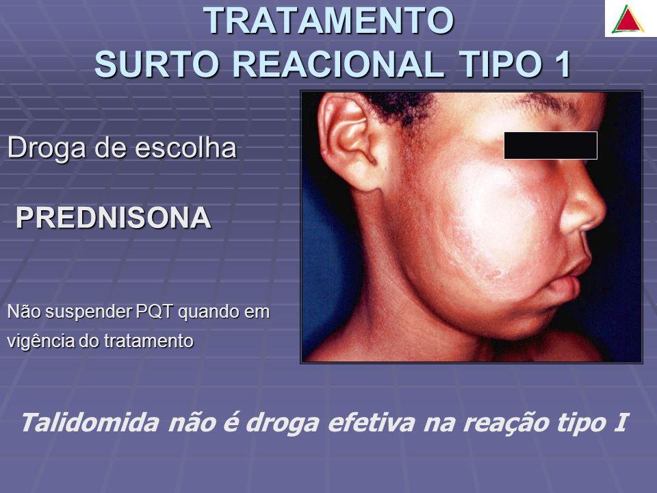 TRATAMENTO SURTO REACIONAL TIPO 1