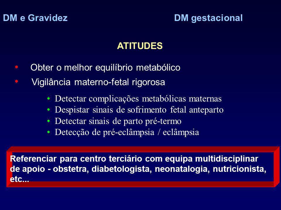 DM e Gravidez DM gestacional