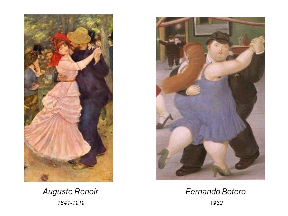 Auguste Renoir 1841-1919 Fernando Botero 1932