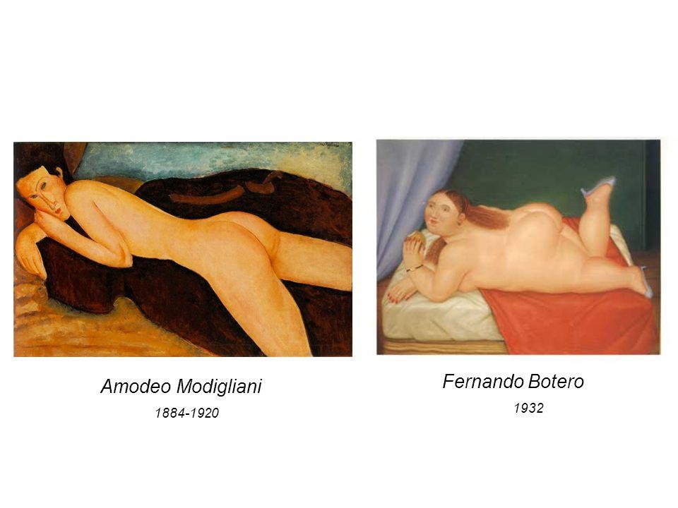 Fernando Botero 1932 Amodeo Modigliani 1884-1920