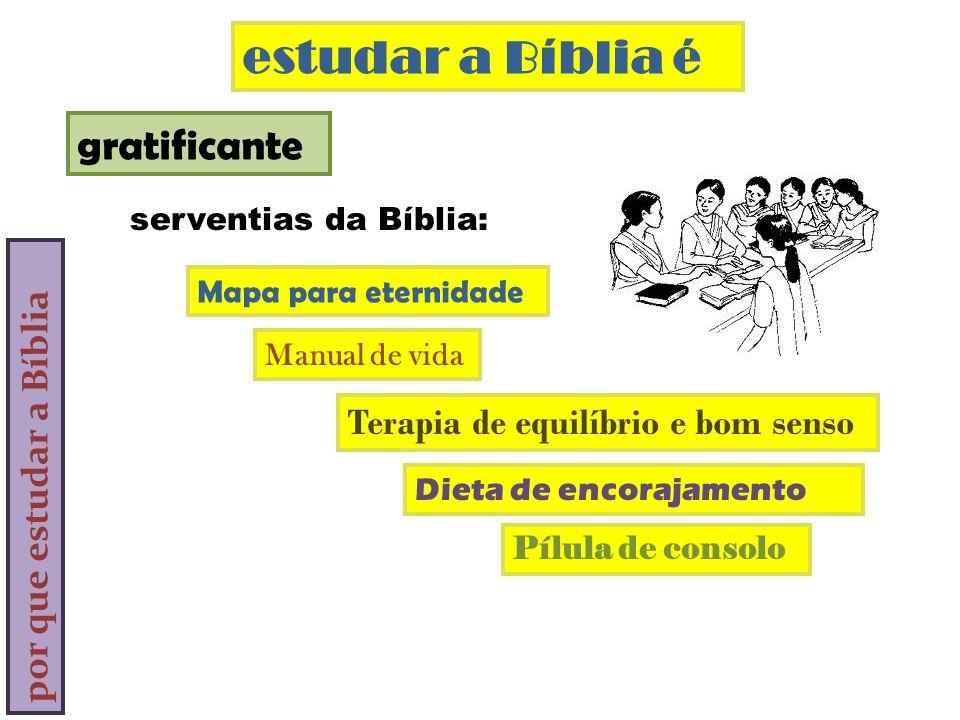 estudar a Bíblia é gratificante por que estudar a Bíblia