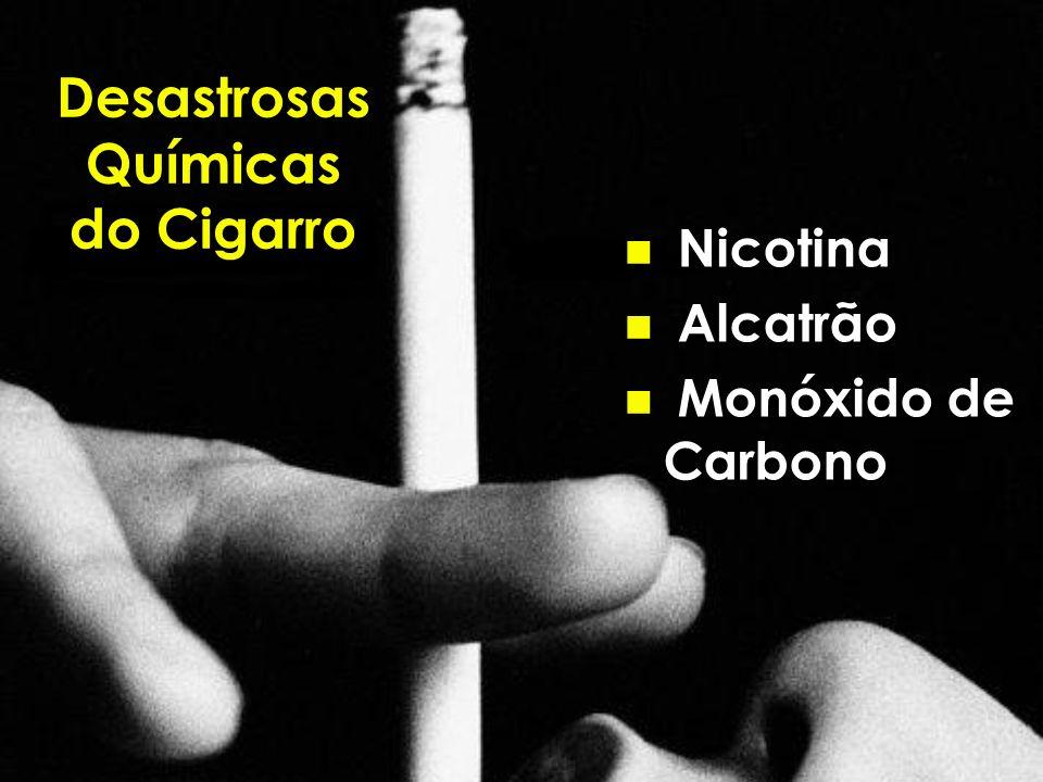 Desastrosas Químicas do Cigarro