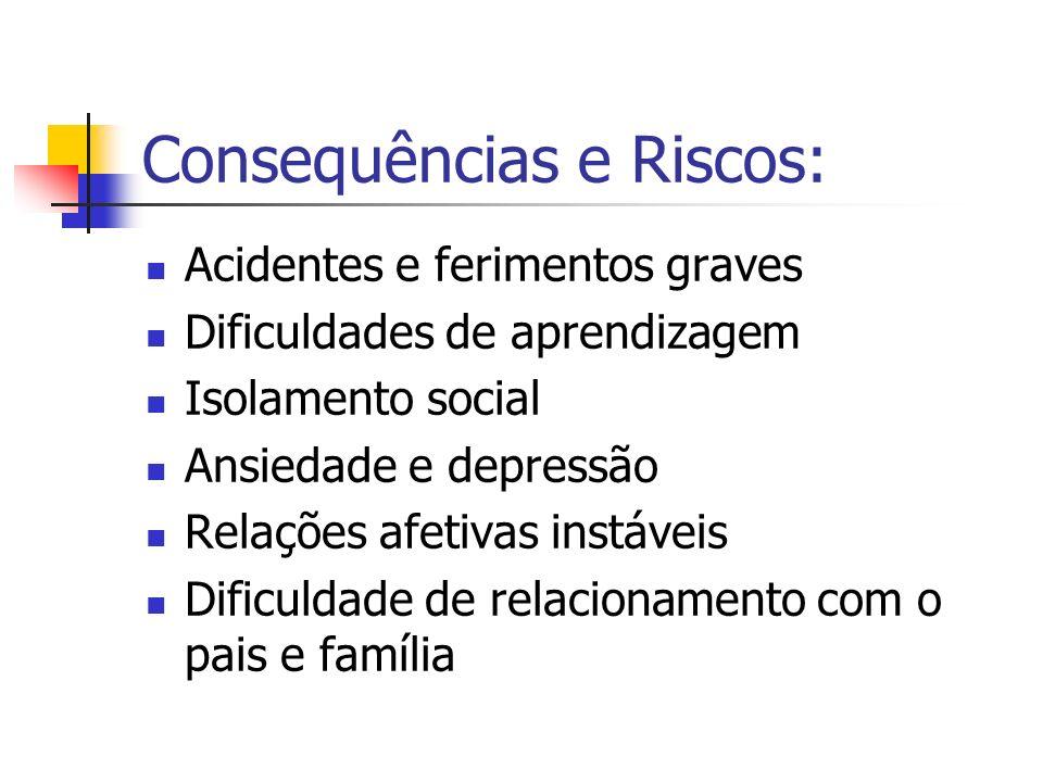 Consequências e Riscos: