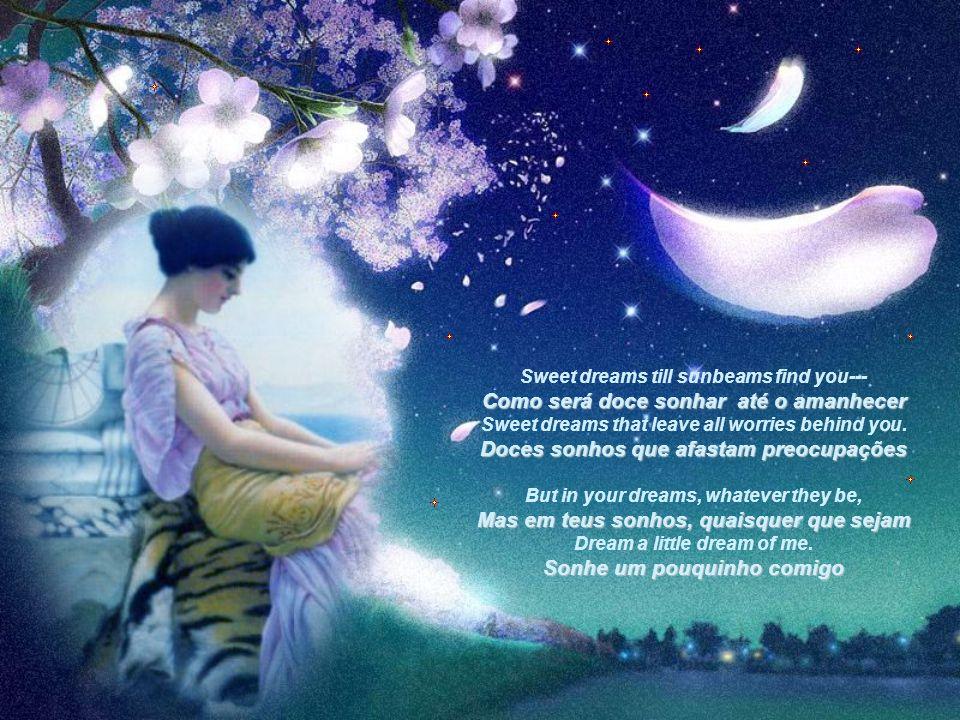 Doces sonhos que afastam preocupações