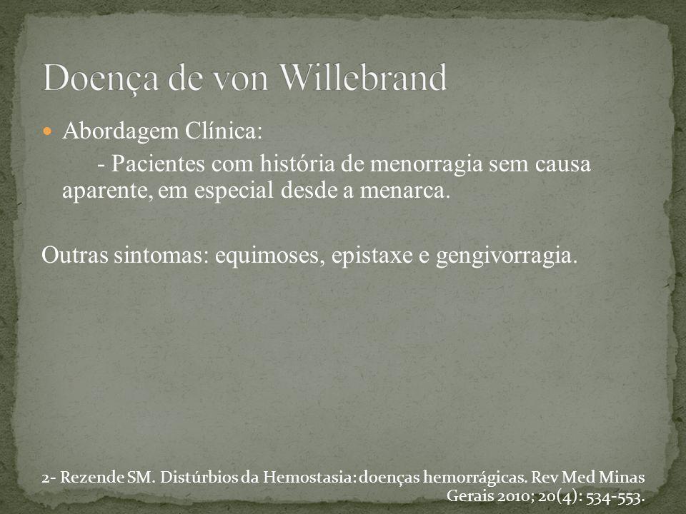 Doença de von Willebrand
