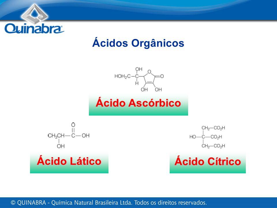Ácidos Orgânicos Ácido Ascórbico Ácido Lático Ácido Cítrico