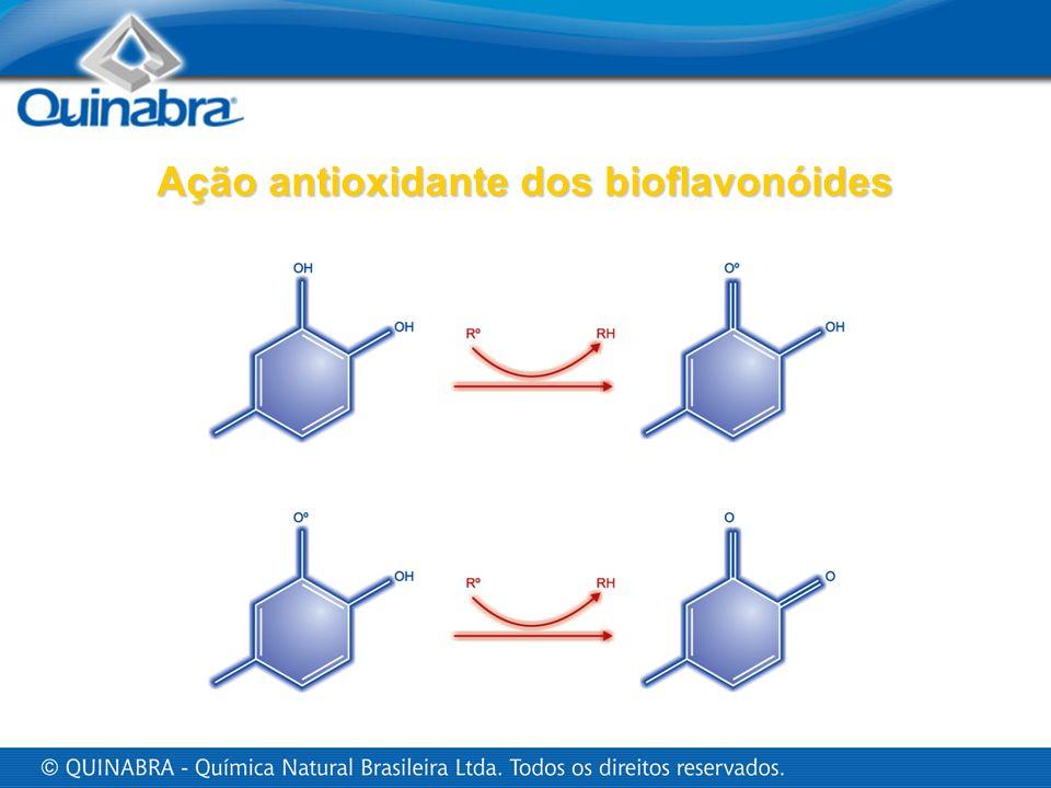 Ação antioxidante dos bioflavonóides