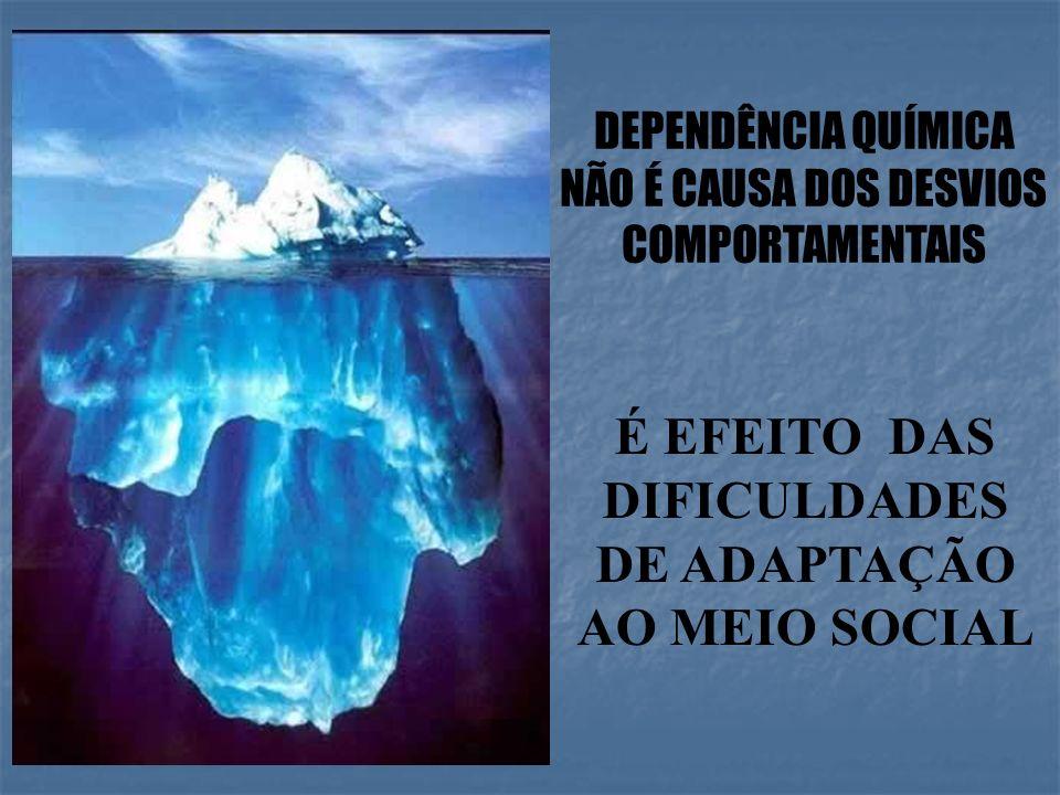 É EFEITO DAS DIFICULDADES DE ADAPTAÇÃO AO MEIO SOCIAL