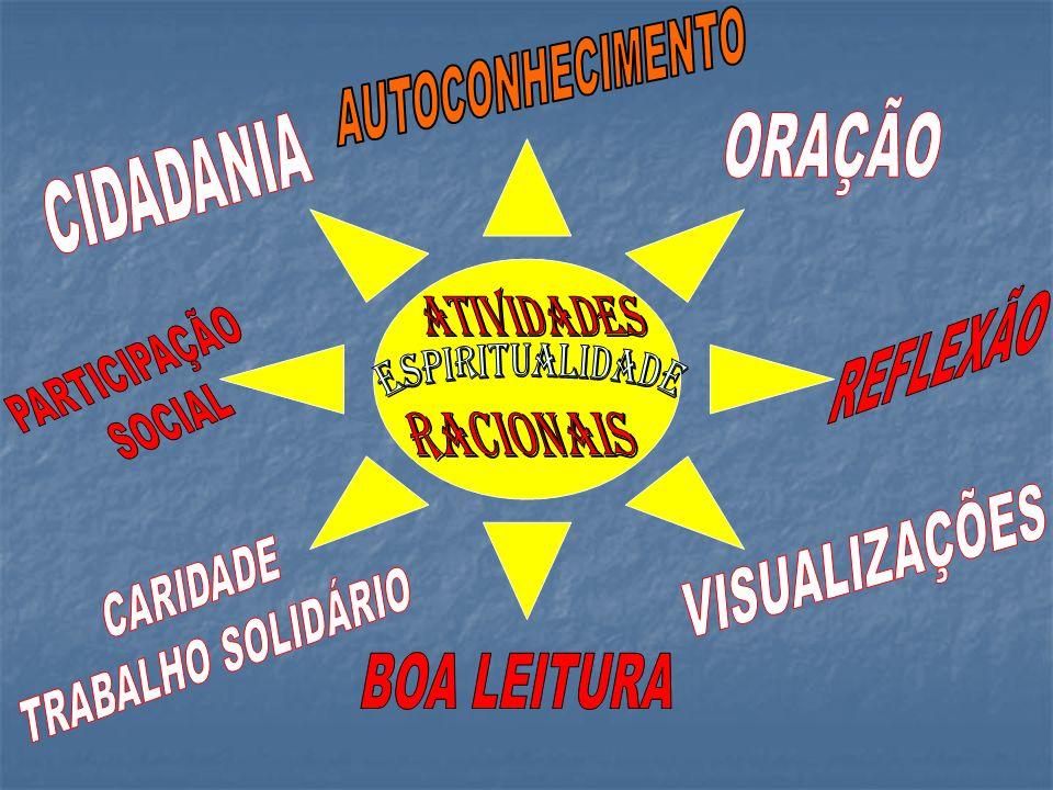 AUTOCONHECIMENTO ORAÇÃO CIDADANIA ATIVIDADES REFLEXÃO PARTICIPAÇÃO