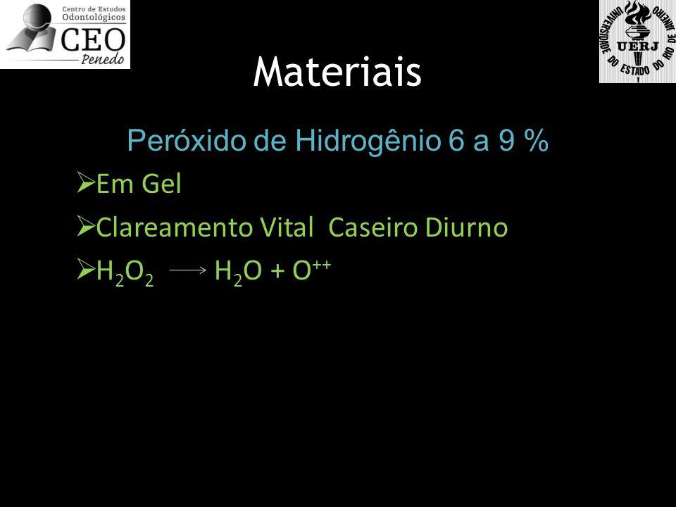 Peróxido de Hidrogênio 6 a 9 %