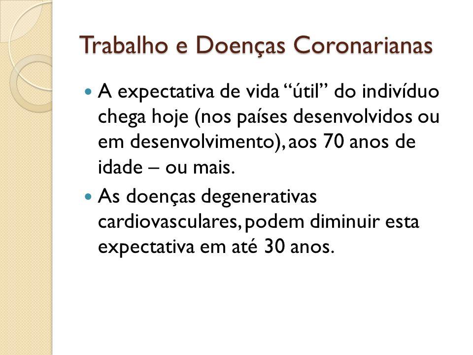 Trabalho e Doenças Coronarianas