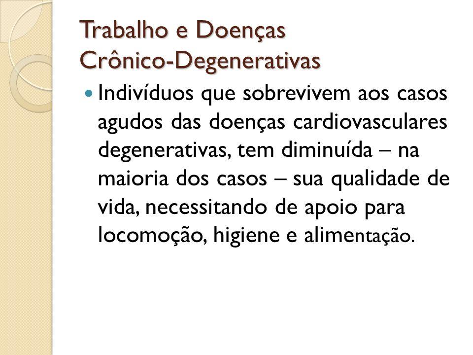 Trabalho e Doenças Crônico-Degenerativas