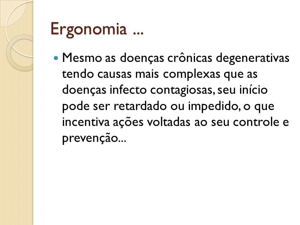 Ergonomia ...
