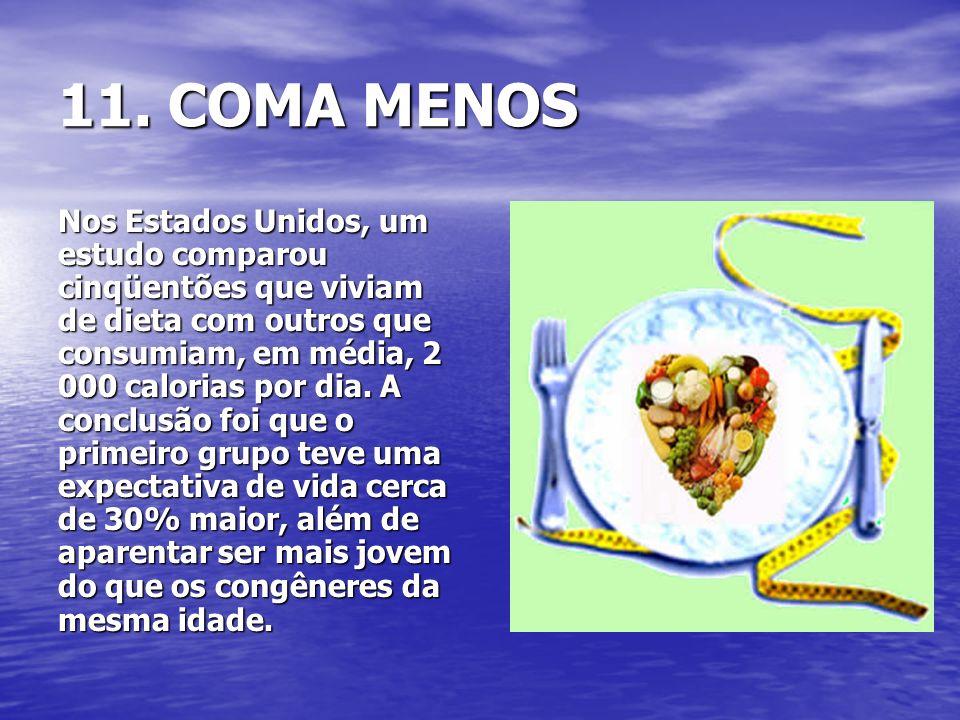 11. COMA MENOS
