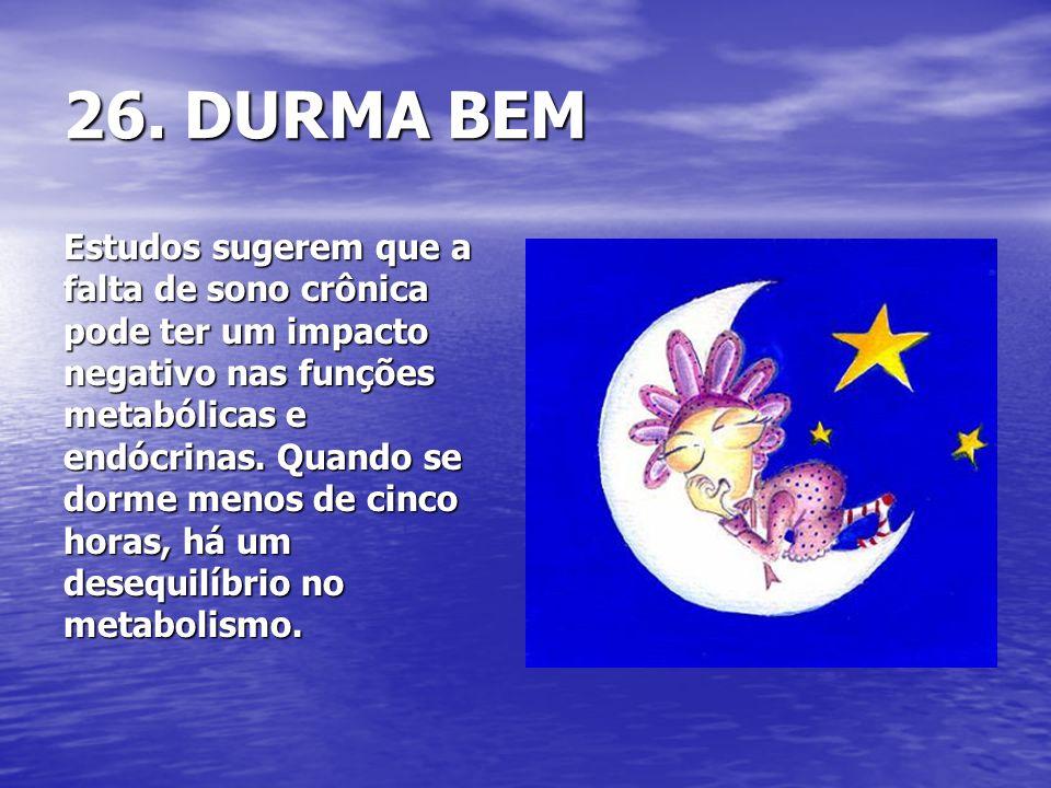 26. DURMA BEM