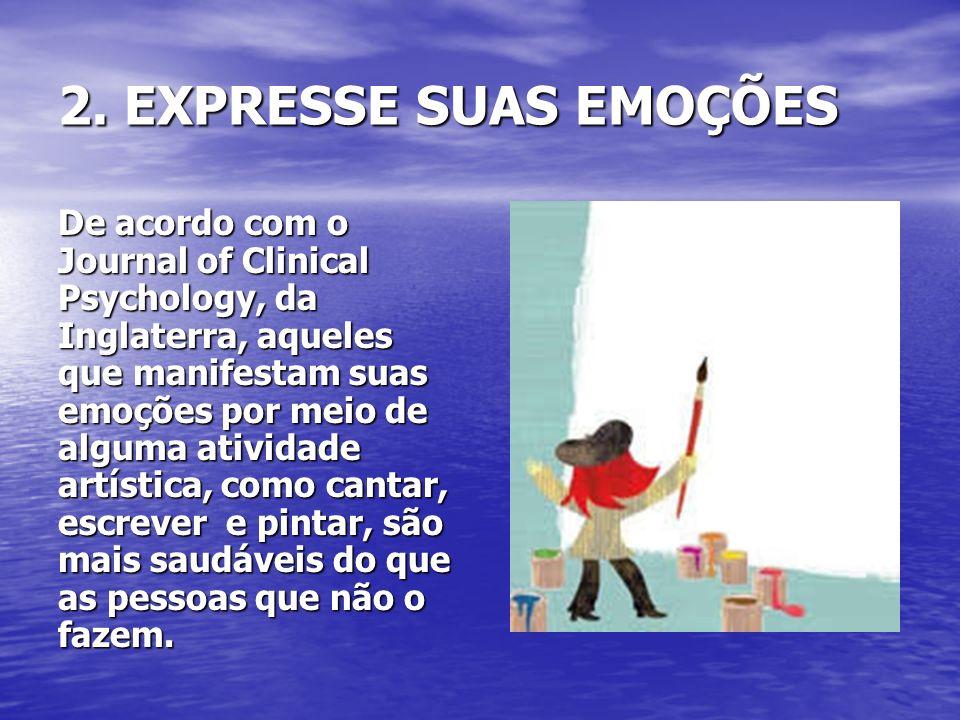 2. EXPRESSE SUAS EMOÇÕES