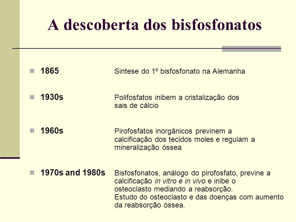 A descoberta dos bisfosfonatos