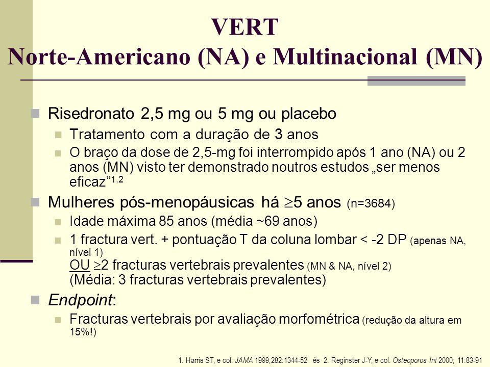 VERT Norte-Americano (NA) e Multinacional (MN)