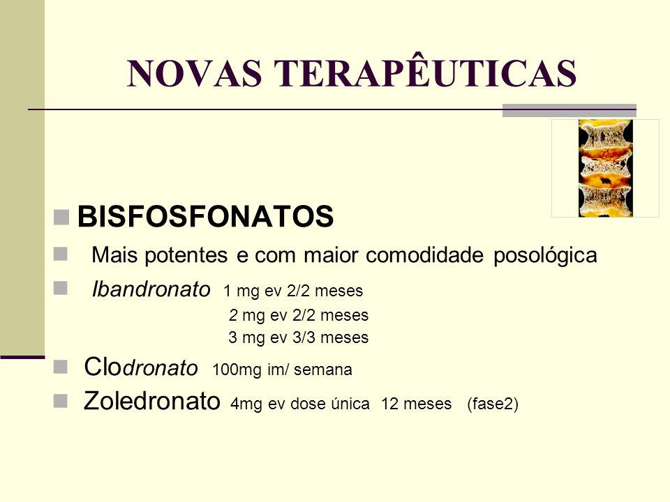 NOVAS TERAPÊUTICAS BISFOSFONATOS
