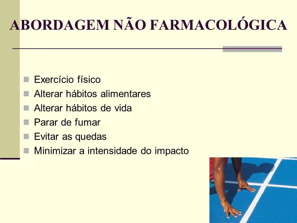 ABORDAGEM NÃO FARMACOLÓGICA