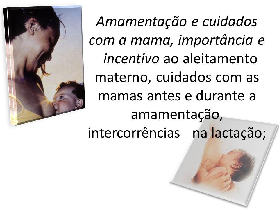 Amamentação e cuidados com a mama, importância e