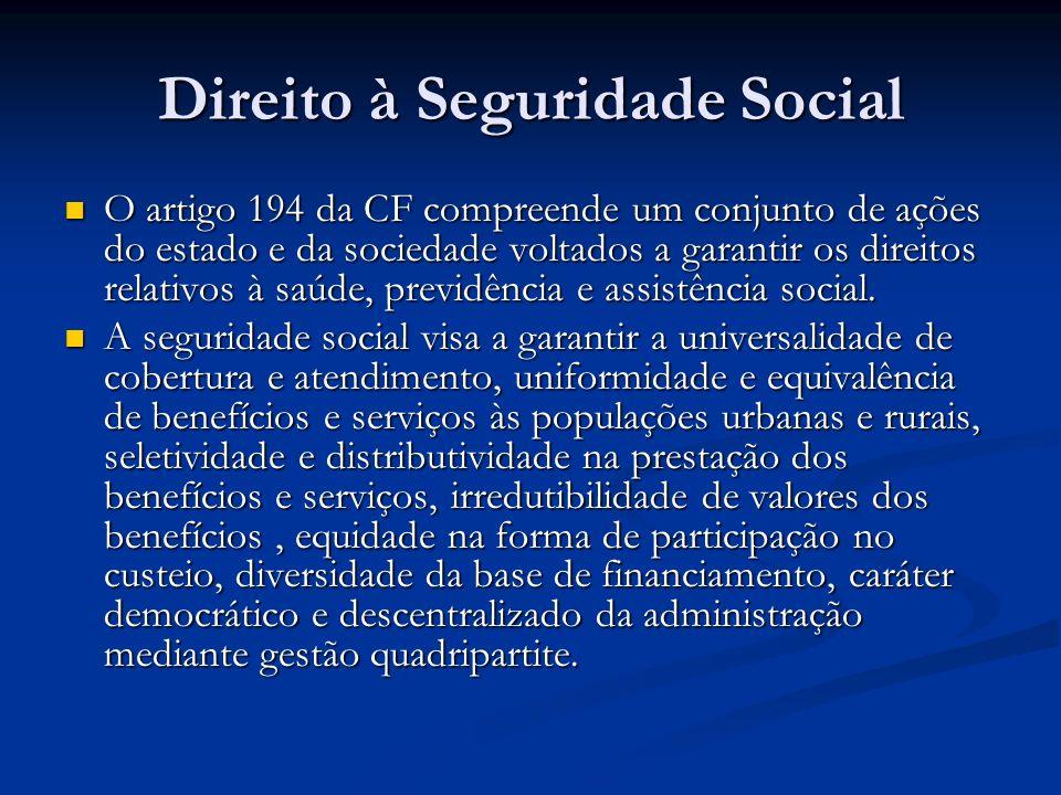 Direito à Seguridade Social