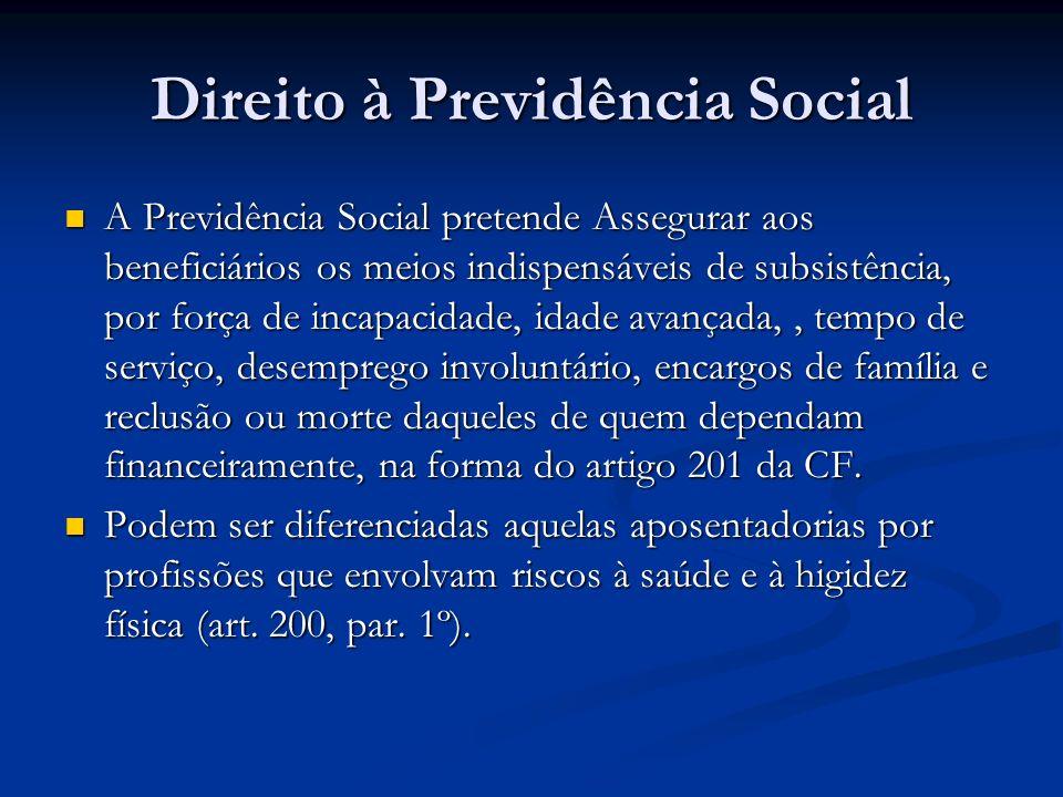 Direito à Previdência Social