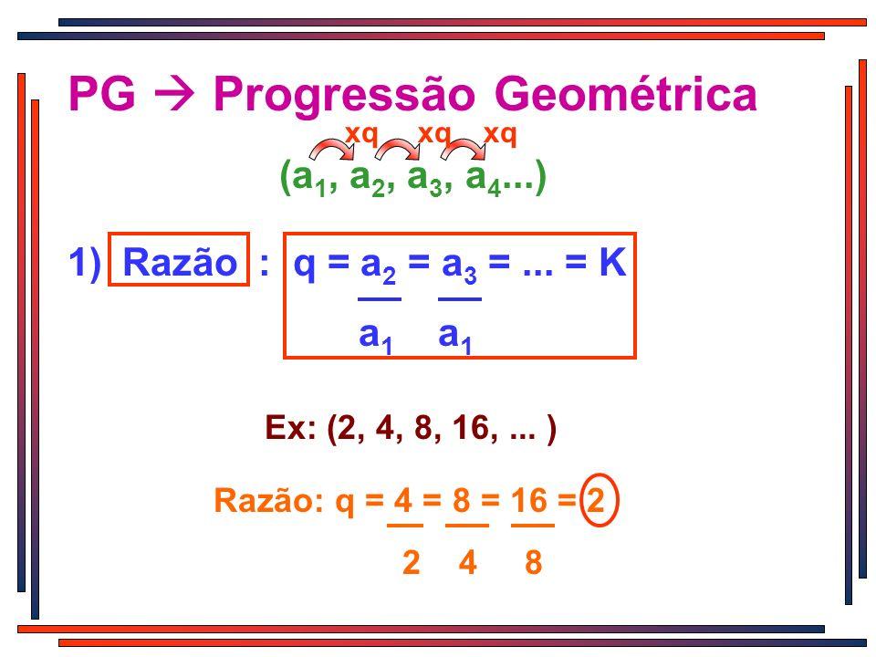 PG  Progressão Geométrica