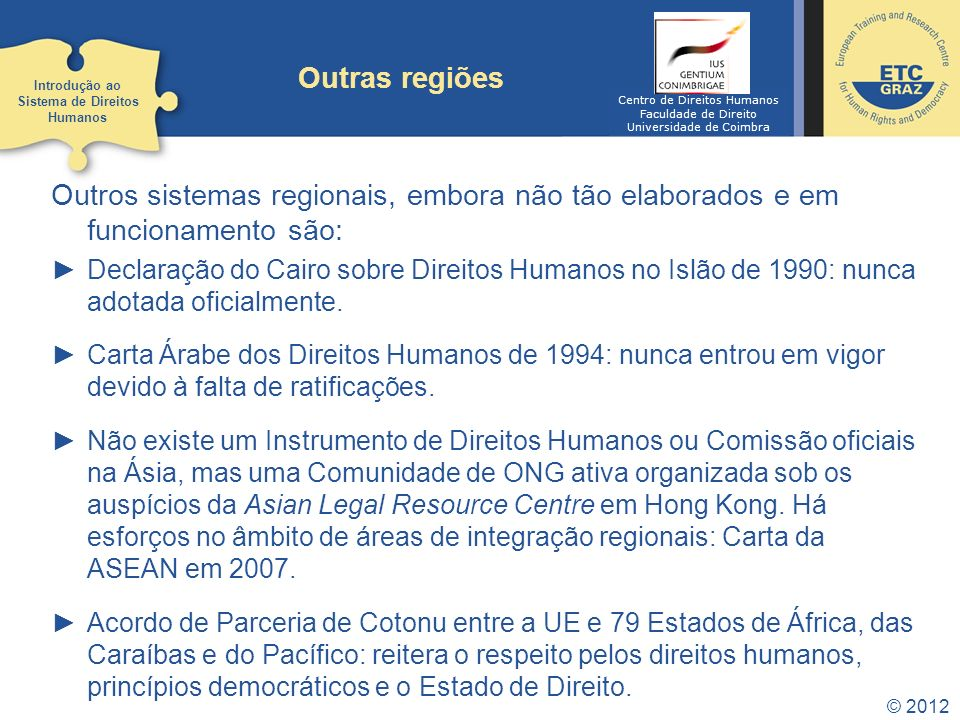 Introdução ao Sistema de Direitos Humanos