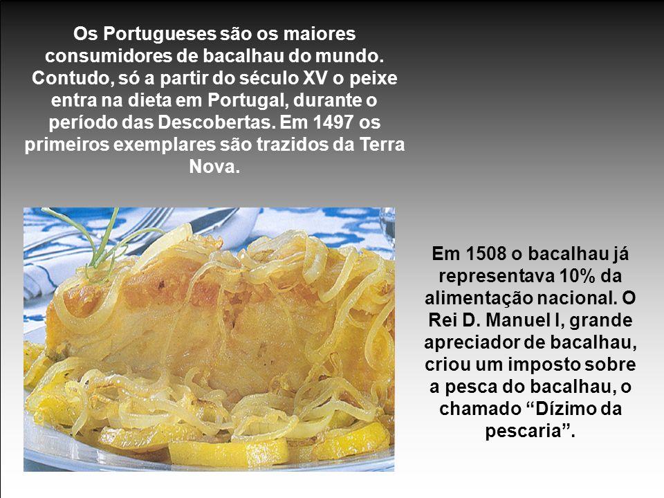 Os Portugueses são os maiores consumidores de bacalhau do mundo