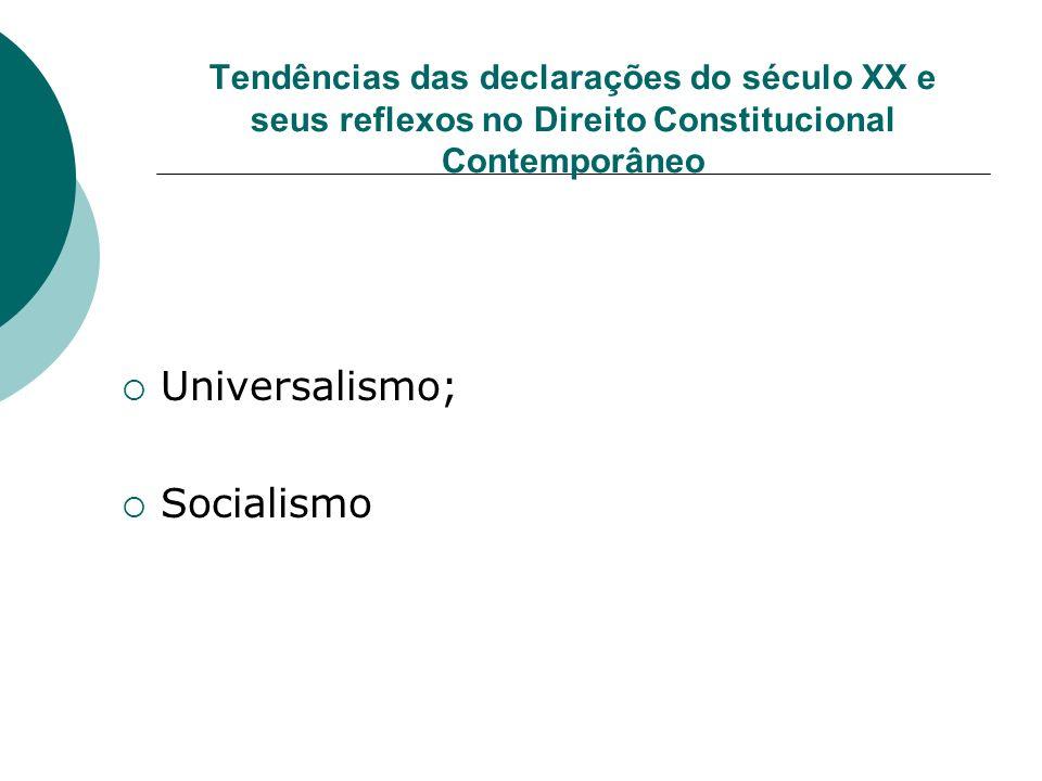 Universalismo; Socialismo