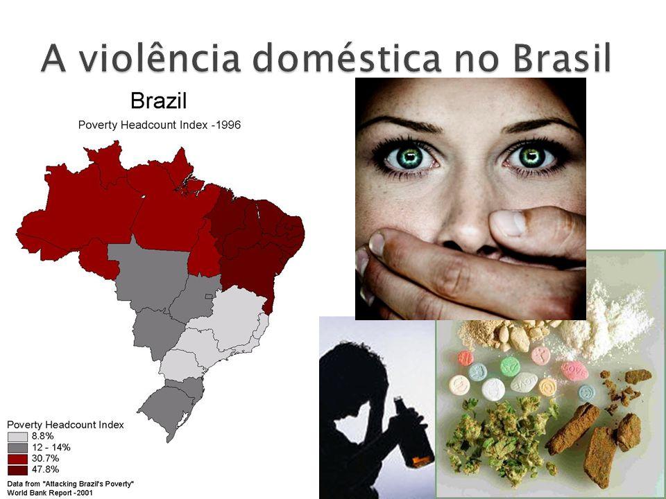 A violência doméstica no Brasil