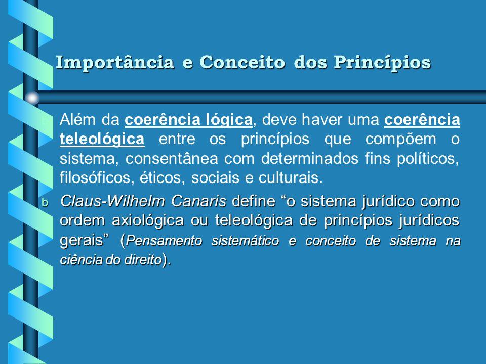 Importância e Conceito dos Princípios
