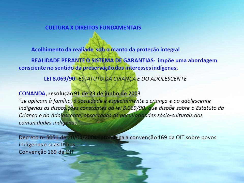 CULTURA X DIREITOS FUNDAMENTAIS