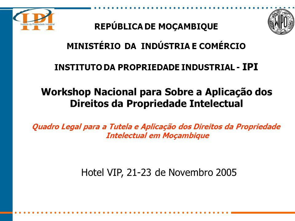 Workshop Nacional para Sobre a Aplicação dos
