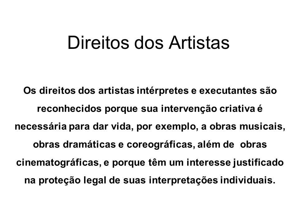 Direitos dos Artistas