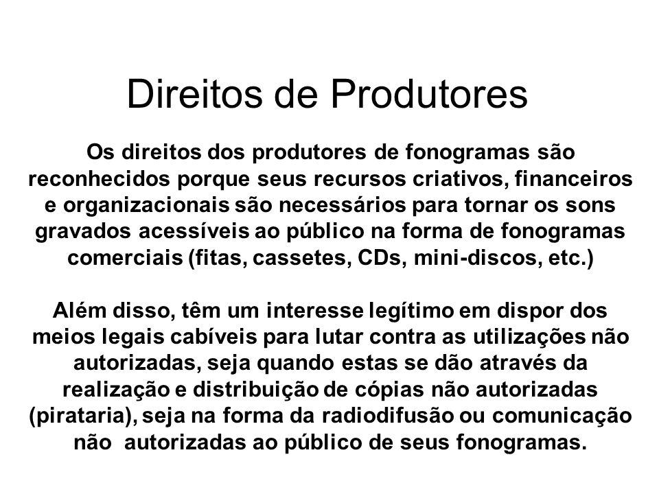 Direitos de Produtores