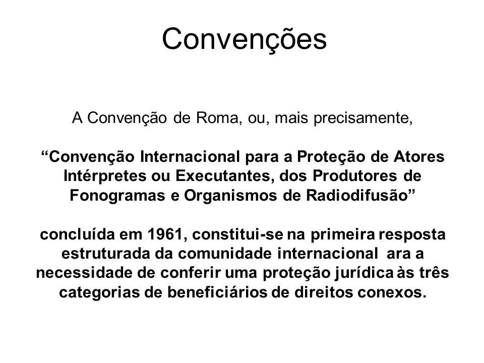 A Convenção de Roma, ou, mais precisamente,
