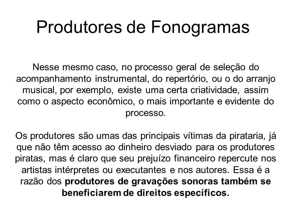 Produtores de Fonogramas