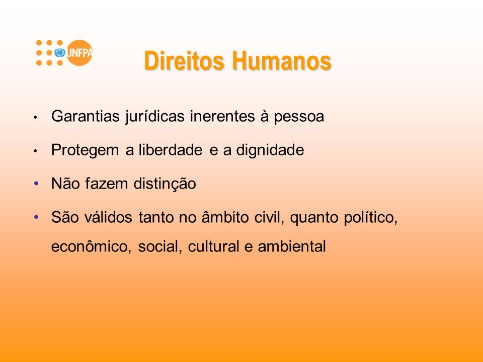 Direitos Humanos Garantias jurídicas inerentes à pessoa