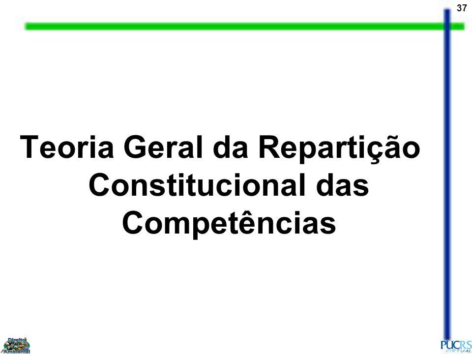 Teoria Geral da Repartição Constitucional das Competências
