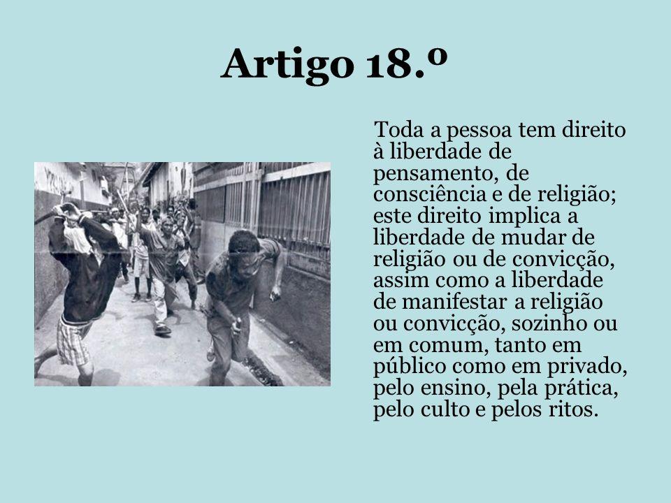 Artigo 18.º