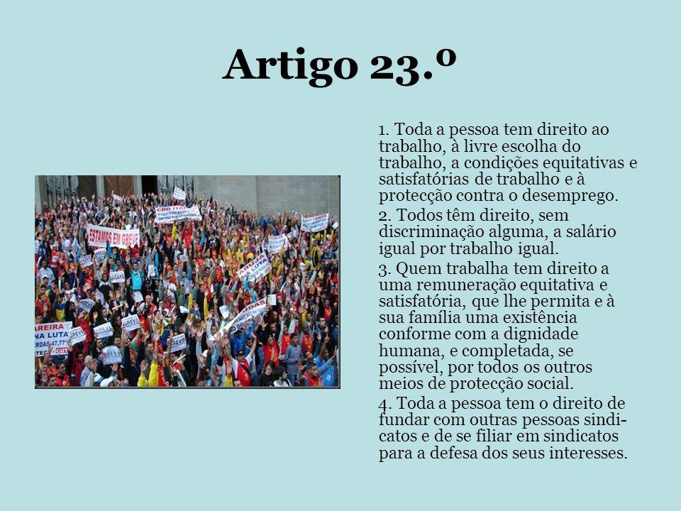 Artigo 23.º