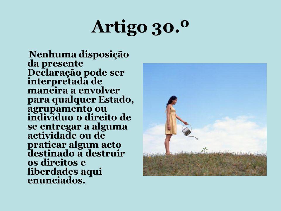 Artigo 30.º