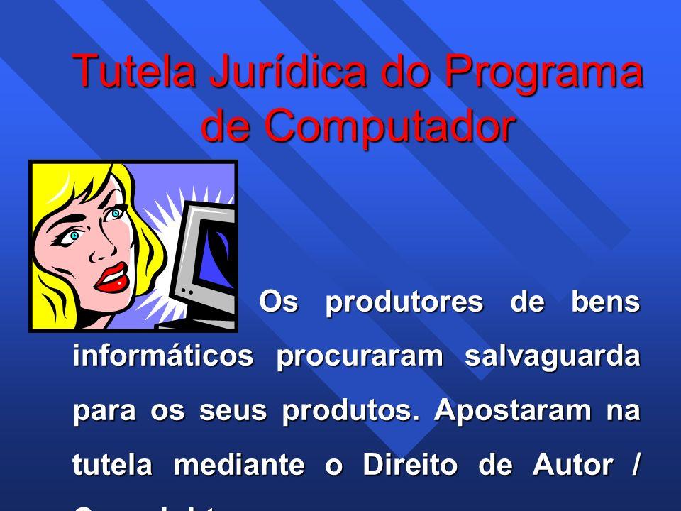 Tutela Jurídica do Programa de Computador