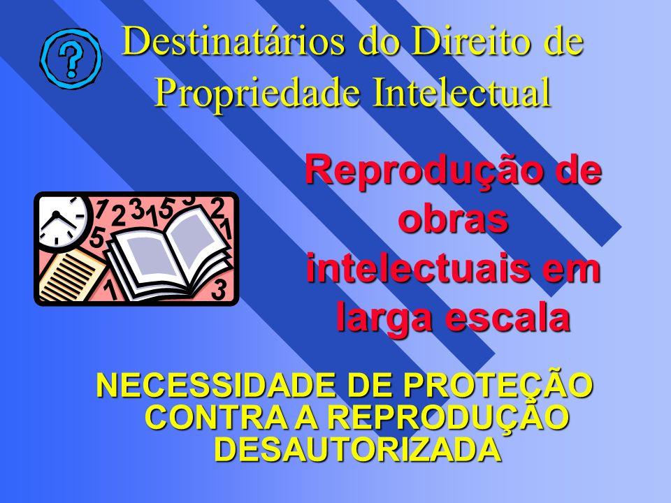Destinatários do Direito de Propriedade Intelectual