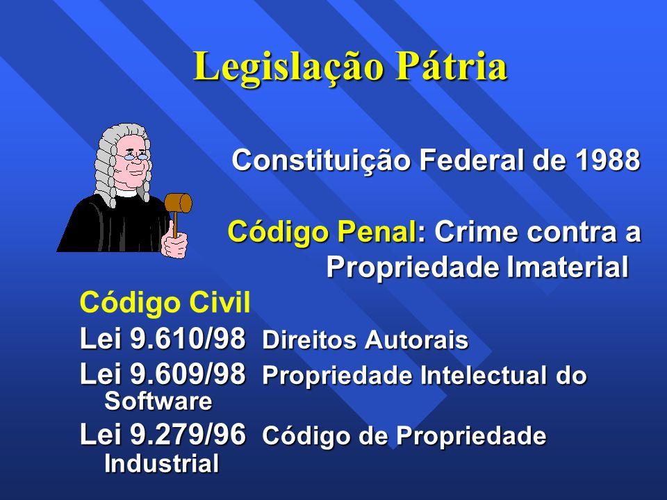 Legislação Pátria Constituição Federal de 1988