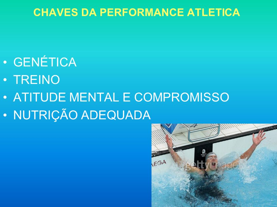 CHAVES DA PERFORMANCE ATLETICA