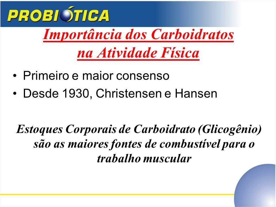 Importância dos Carboidratos na Atividade Física
